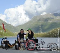 Photo: Silke Pan and her husband; Copyright: Anny Thirion - 2point8.ch
