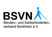 Logo: North-Rhine Association of the Blind and Visually Impaired