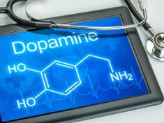 Photo: Chemical structure of dopamine