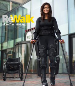 Photo: ReWalk Exoskeleton; Copyright: ReWalk Robotics GmbH
