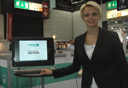 Picture: Exhibitor of REHACARE 2013
