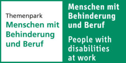 "Photo: Logo Focal Parc ""People with disabilities at work"""