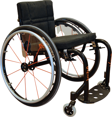 Vida Active user wheelchair