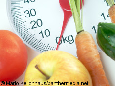 Photo: Scale and vegetables