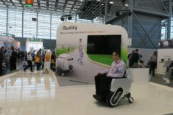 Photo: iBuddy at REHACARE; Copyright: beta-web/Heiduk