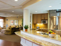 Photo: Interior of a nursing home