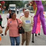 Photo: Participants at a Memory Walk in Venezuela