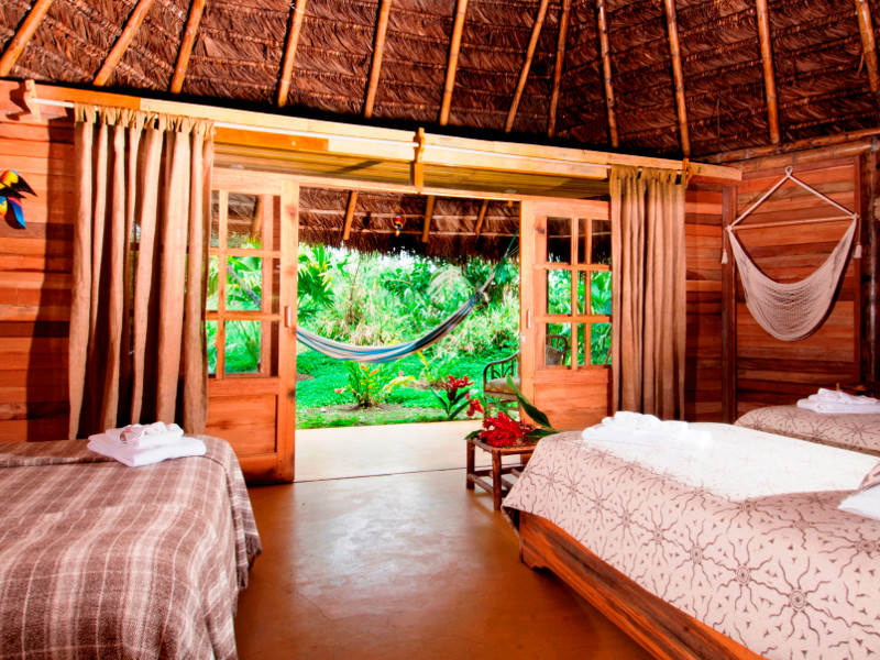 Photo: Accessible jungle lodge; © Ecuadorforall