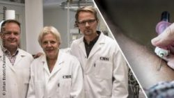 Photo: The researchers Ross-Sandberg-Savolainen; Copyright: Johan Bodell/Chalmers University of Technology