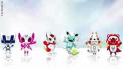 Photo: The three mascot design sets for Olympic and Paralympic Games; Copyright: paralympic.org