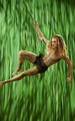 Photo: Actor playing Tarzan in the same-titeled musical