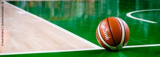Photo: A resting basketball during the Paralympics in Rio2016; Copyright: Andi Weiland | Gesellschaftsbilder.de
