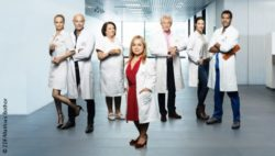 "Photo: Lead cast of ""Dr. Klein""; Copyright: ZDF/Mathias Bothor"