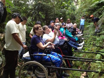 Photo: Guests in the jungle; © Ecuadorforall