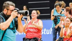Photo: Photographer at Wheelchair Basketball World Championship 2018 in Hamburg/Germany; Copyright: Andi Weiland | www.gesellschaftsbilder.de