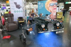 Photo: Oldtimer at the Saljol booth; Copyright: beta-web/Schlüter