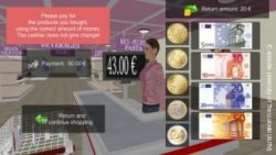 Photo: Virtual super market payment screen; Copyright: Aristotle University of Thessaloniki (AUTH)