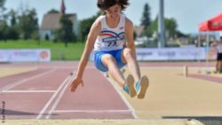Photo: Female longjumper at the Para Youth Games; Copyright: Luc Percival