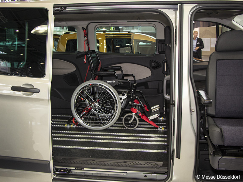 Photo: Wheelchair in car