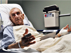 Photo: Elderly patient