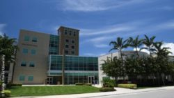 Photo: The building called Phil Smith Hall of the FAU; Copyright: Florida Atlantic University