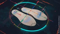 Photo: Smart shoe insoles; Copyright: Stevens Institute of Technology