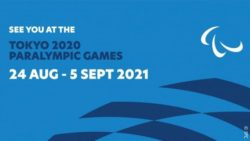 Photo: blue header graphic for the paralympics; Copyright: IPC