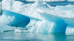Photo: Glacier iceberg in an ice lagoon; Copyright: PantherMedia/Filip Fuxa