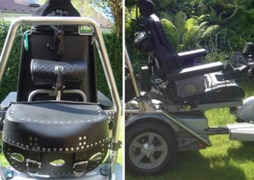 Foto: Wheelchair for travelling