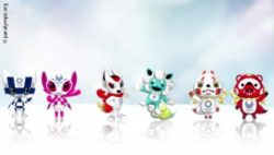 Photo: The three mascot design sets for the Olympic and Paralympic Games; Copyright: paralympic.org