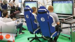Photo: ESports area during REHACARE 2018; Copyright: Messe Düsseldorf/ctillmann