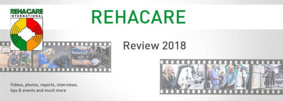 Graphic: REHACARE 2018 review; Copyright: Messe Düsseldorf