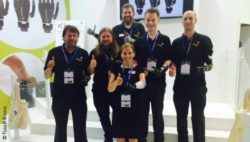 Photo: Ambassador team of Touch Bionics