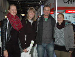 Photo: Vera, Katharina, Guido and Hannah; Copyright: beta-web/Schmitz