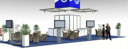 Photo: Design of a trade fair stand