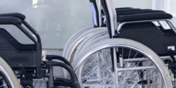 Photo: Some wheelchairs ; Copyright: panthermedia.net/destillat