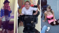 Photo: Mashup of three fashionable people with disabilities; Copyright: private (all pictures)