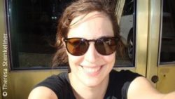 Photo: Theresa Steinkellner with sunglasses; Copyright: Theresa Steinkellner