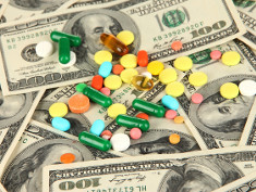 Photo: Medication and money