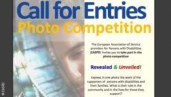 Photo: Call for entries of the photo competition; Copyright: EASPD