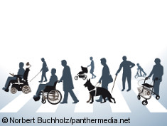 Photo: Graphic of people with different disabilities