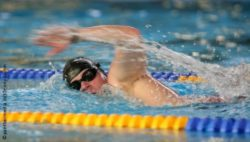 Photo: Swimmer in action; ©  panthermedia.net/Jenny Sturm