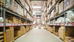 Photo: View into an Ikea warehouse; Copyright: panthermedia.net/pio3