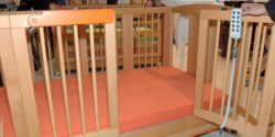 Photo: Infant care bed TOM by SAVI GmbH Reha Solutions; Copyright: beta-web/Schmitz