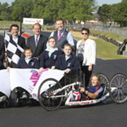 Photo: Eight People and a handbike
