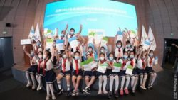 Photo: Chinese schoolchildren at the presentation of the I'mPOSSIBLE toolkit; Copyright: IPC/Beijing 2022
