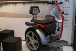 Photo: A self-balancing electronic wheelchair; Copyright: beta-web/Heiduk