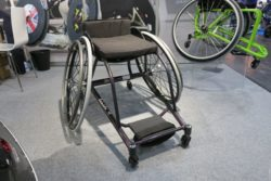 Photo: Sports wheelchair by Roma Medical Aids; Copyright: beta-web/Schlüter