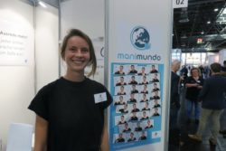 Photo: The booth of manimundo Sign Language app; Copyright: beta-web/Schlüter
