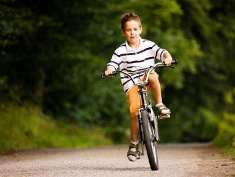 Photo: Boy on a bike
